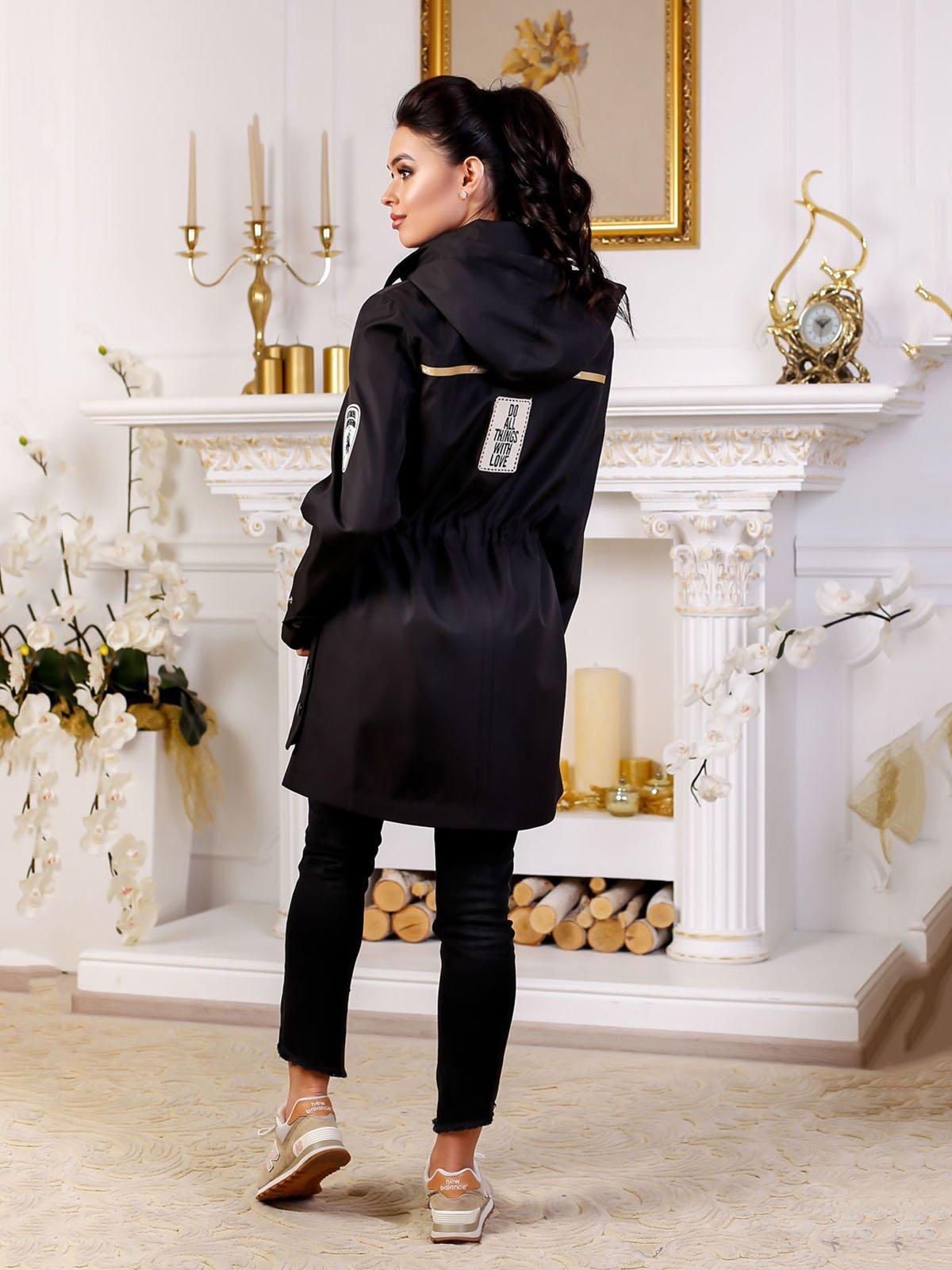 Куртка черная | 4052265 | фото 2