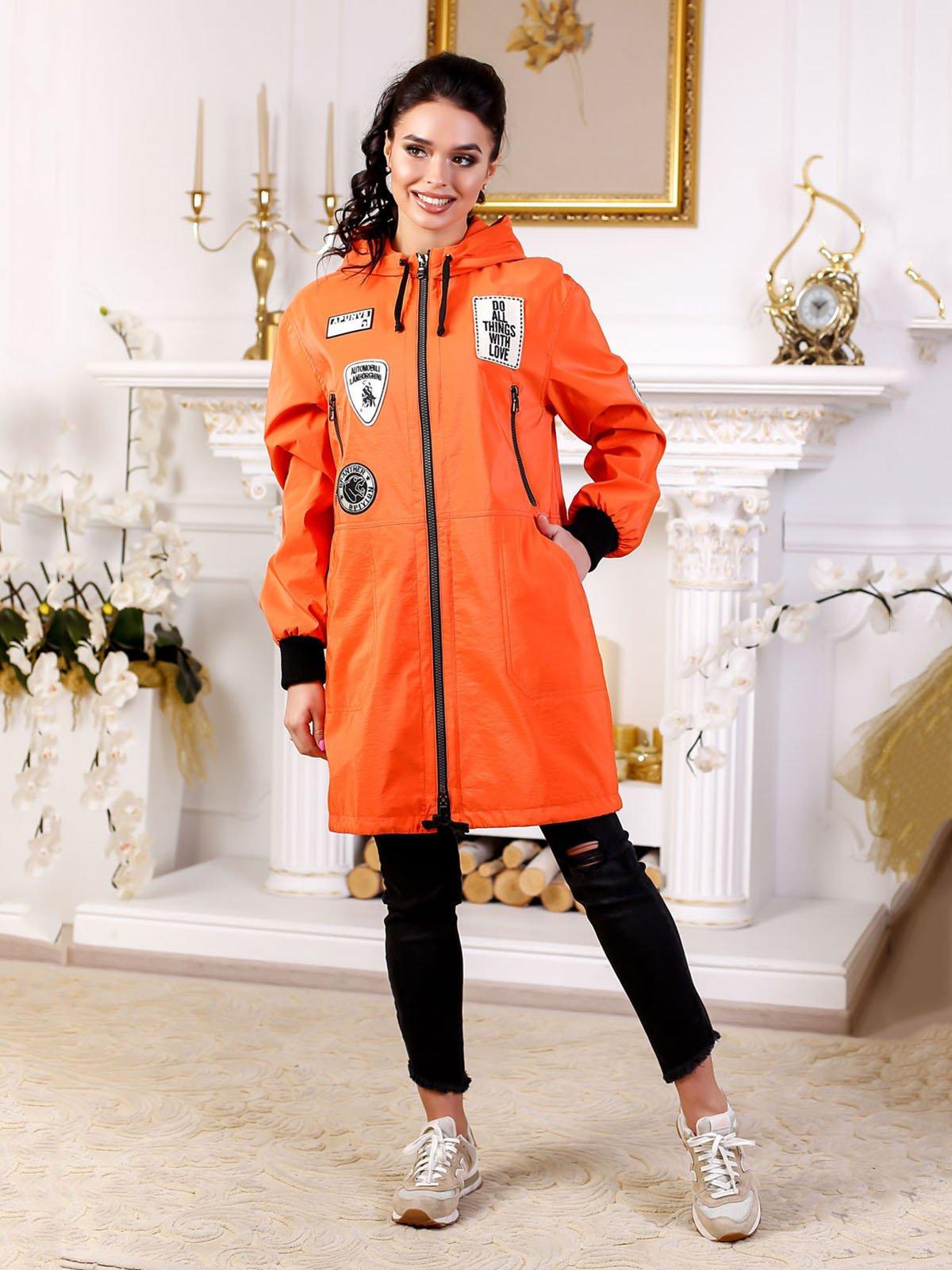 Куртка оранжевая | 4052273