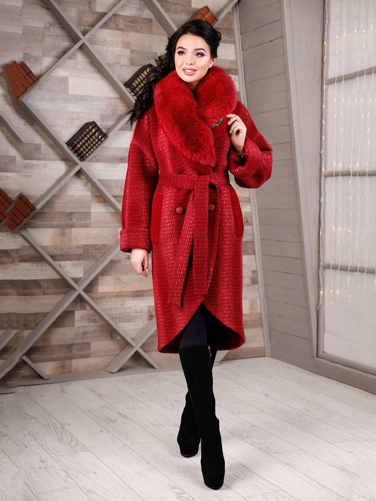 Пальто красное | 4052291