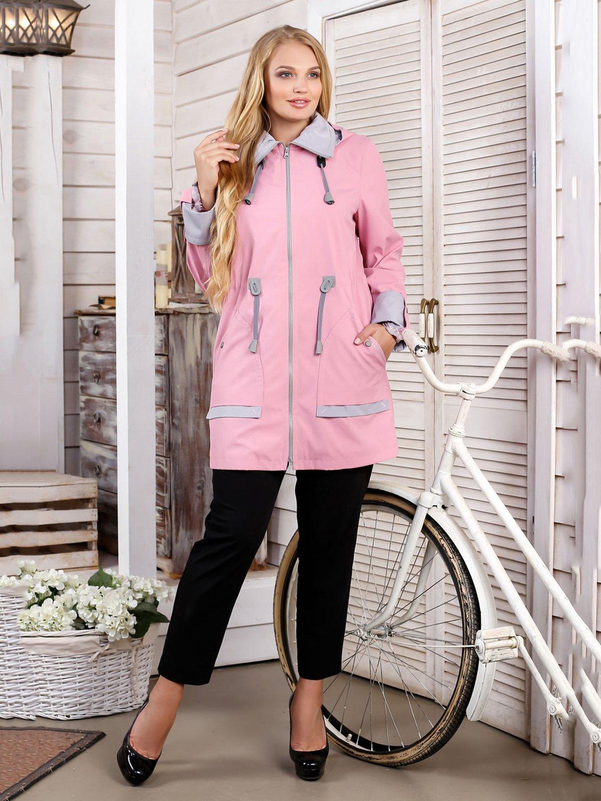 Куртка рожева | 4052318