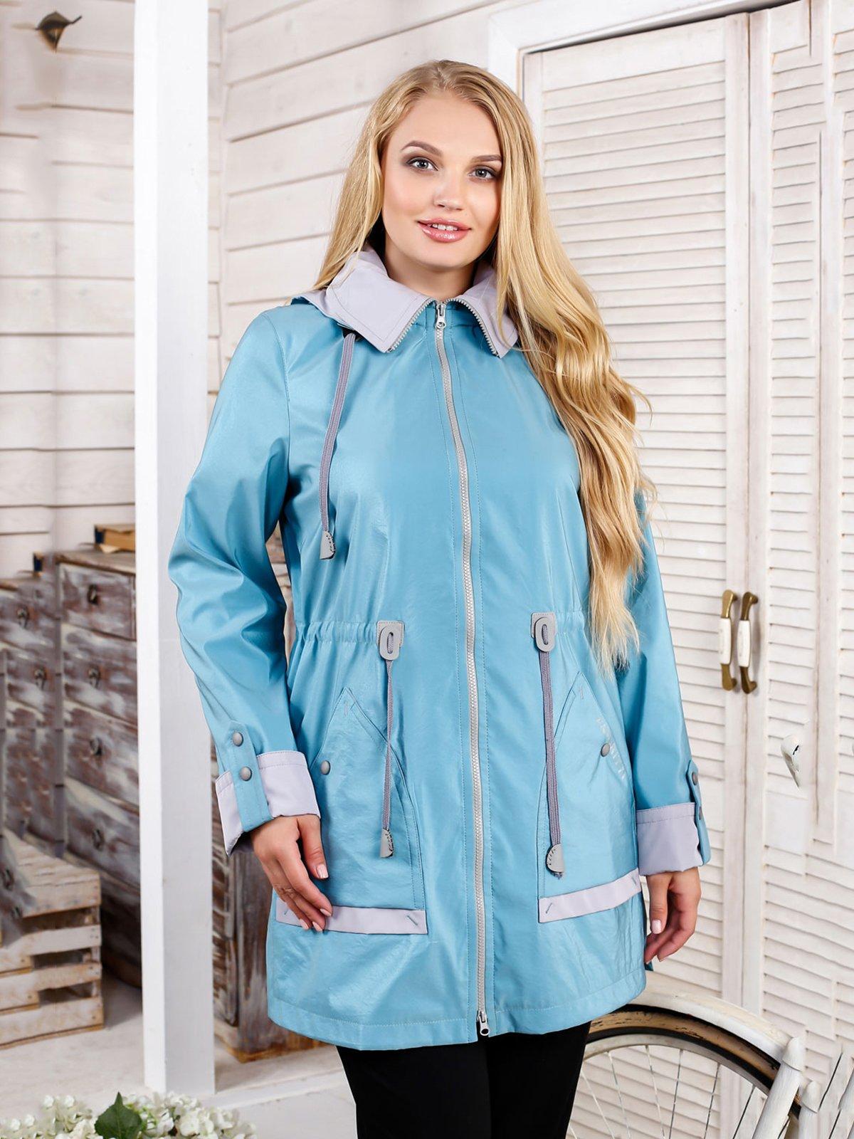 Куртка бирюзовая | 4052319