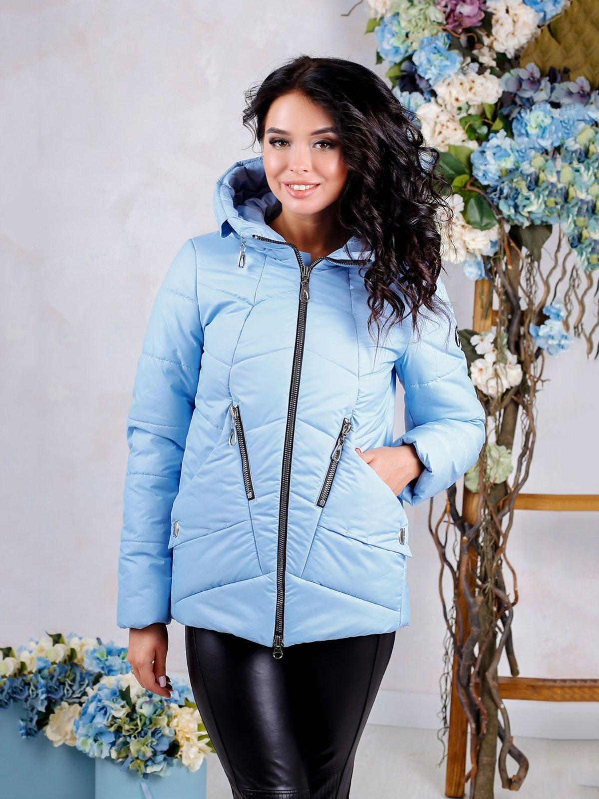 Куртка голубая | 4052357
