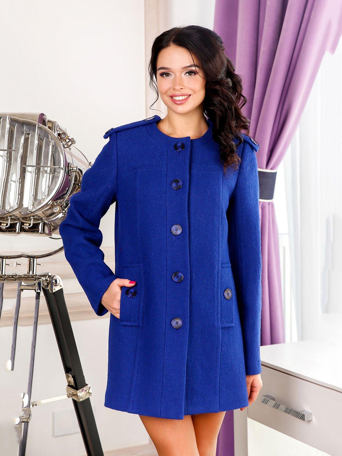 Пальто синє | 4052364