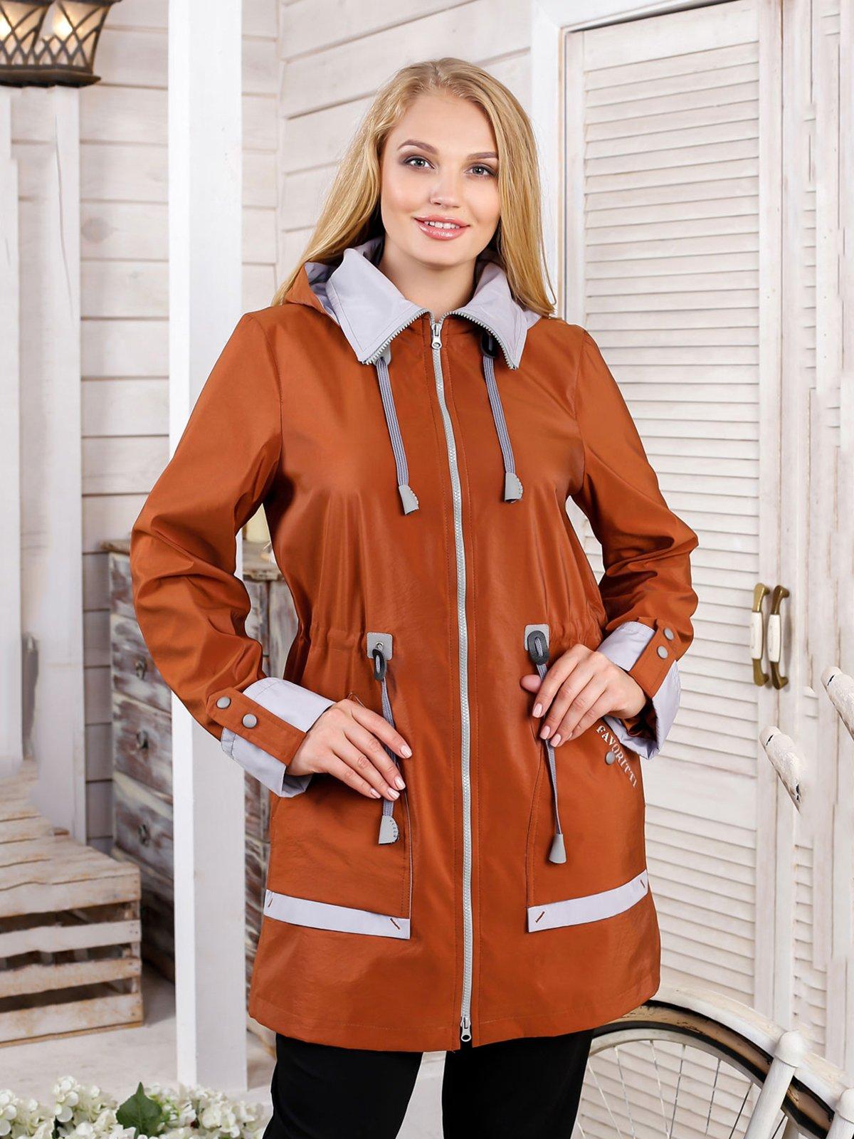 Куртка кирпичного цвета | 4052387