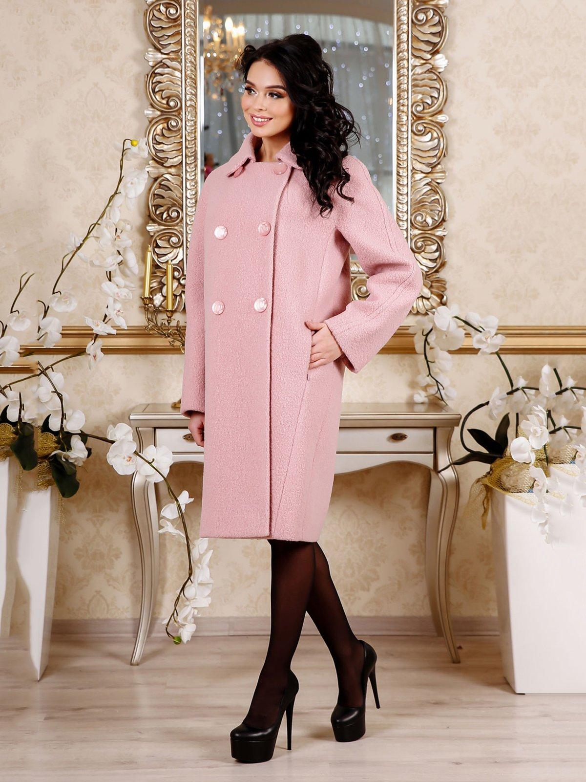 Пальто рожеве | 4052407
