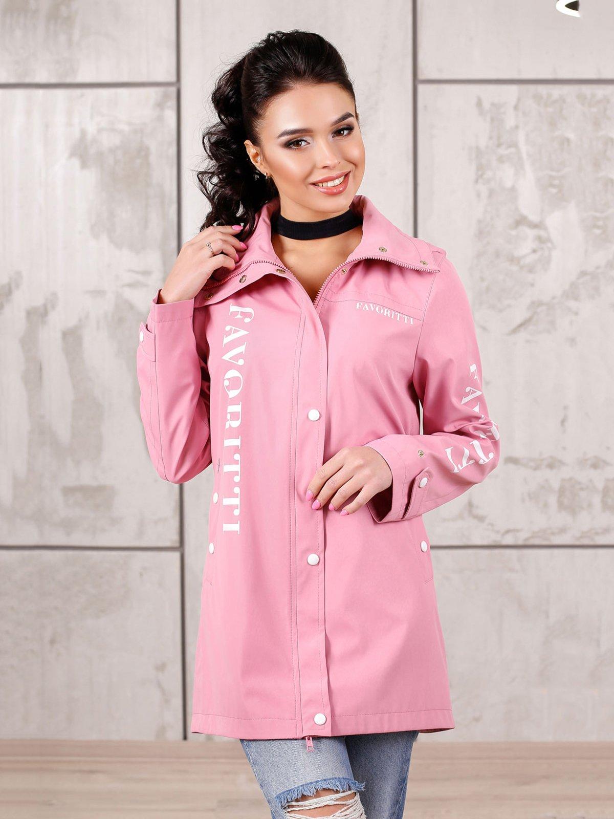 Куртка рожева | 4052434