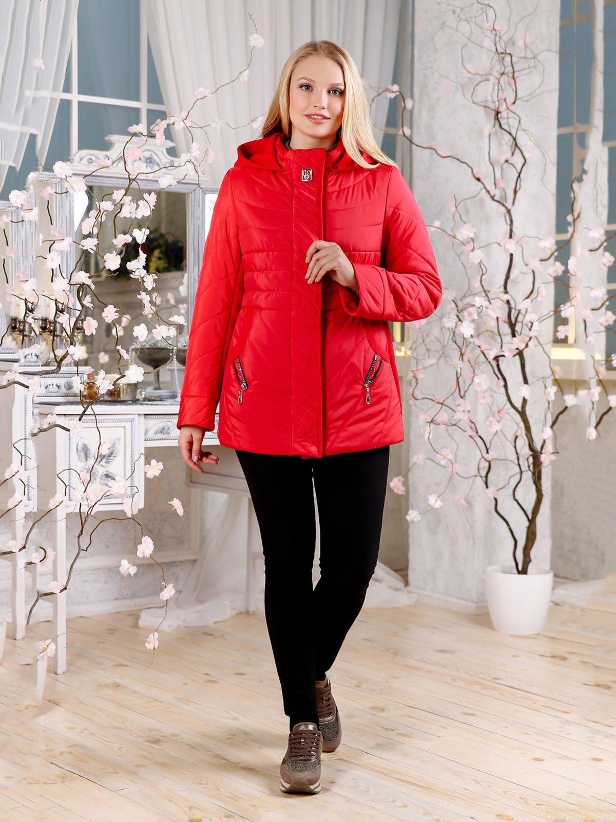 Куртка червона | 4052456