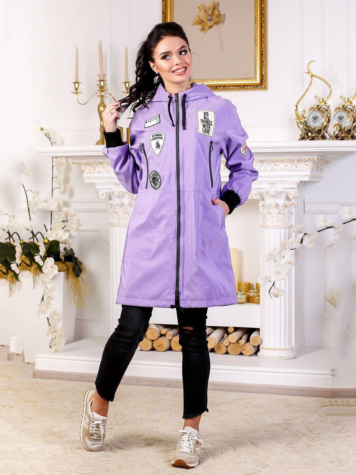 Куртка сиреневая | 4052504