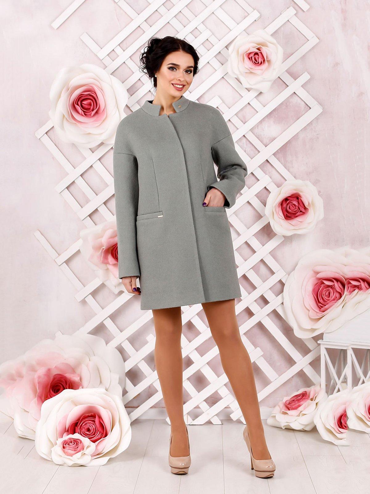 Пальто фисташкового цвета | 4052514