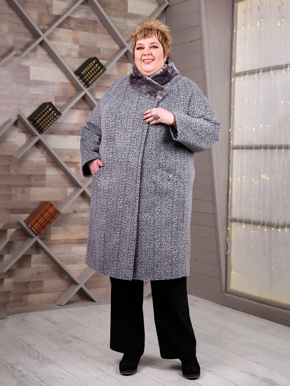 Пальто сіре | 4052518