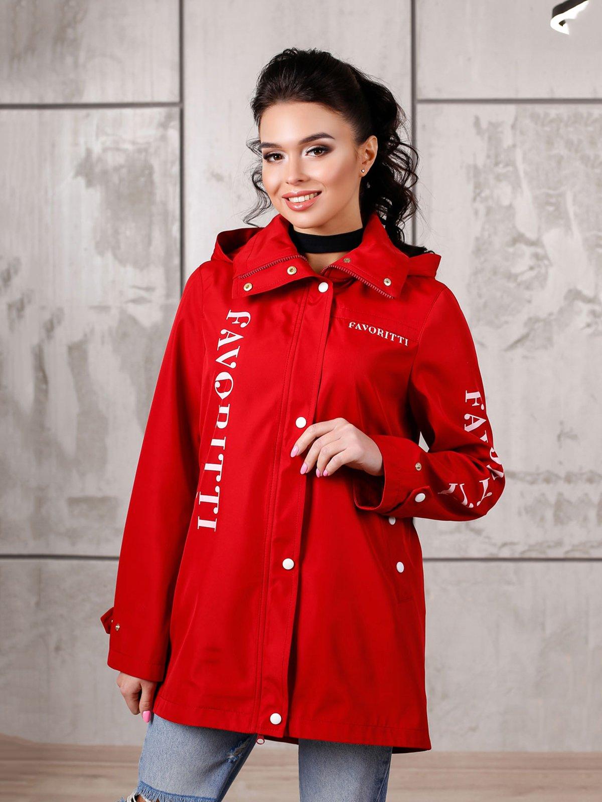 Куртка красная | 4052532