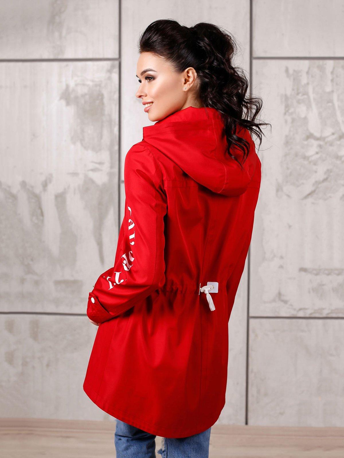Куртка красная | 4052532 | фото 2