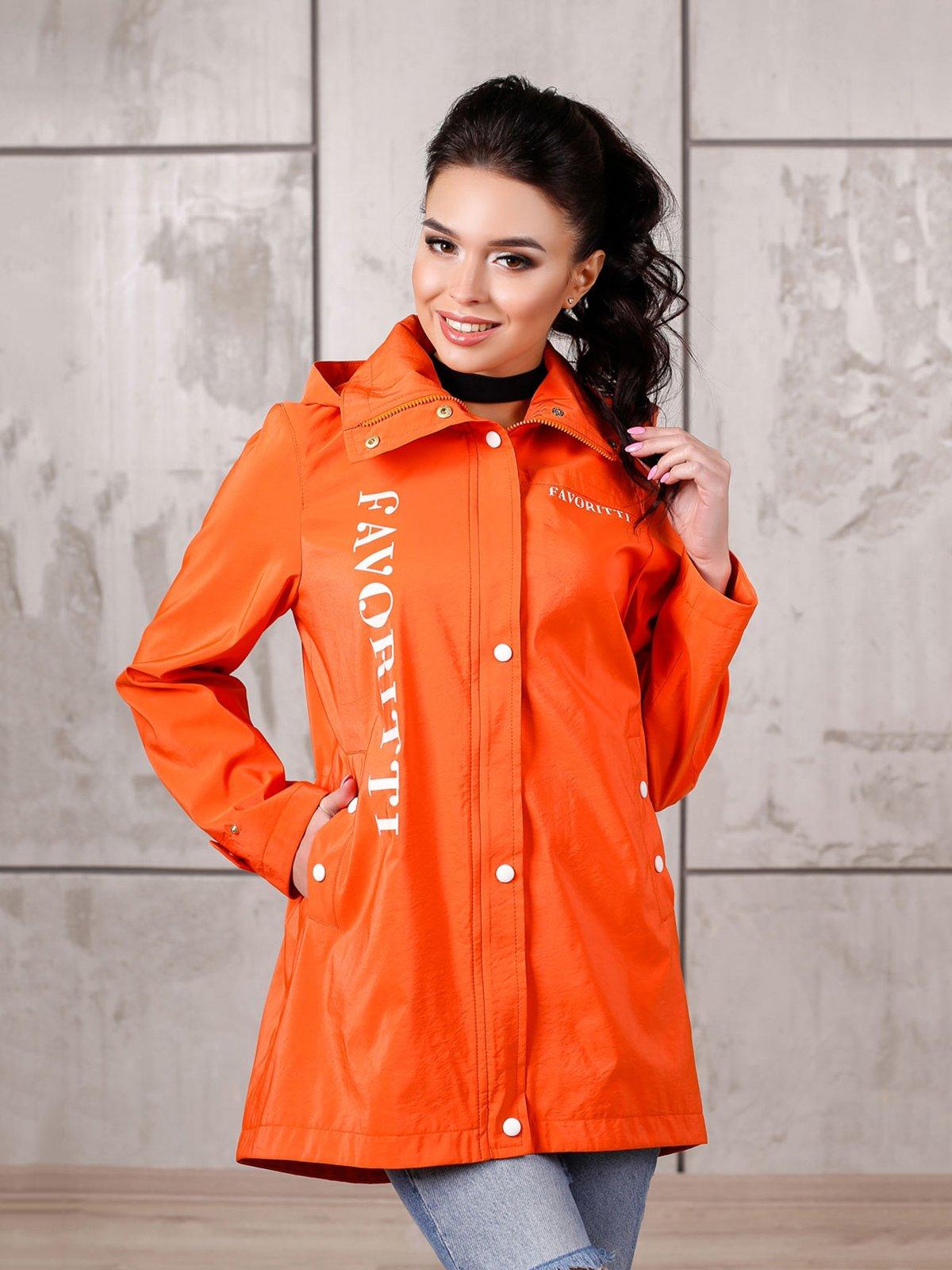 Куртка оранжевая   4052535
