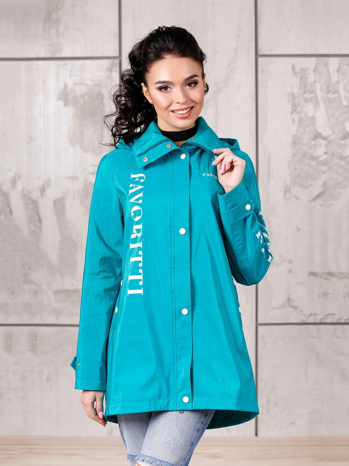 Куртка бірюзова   4052536