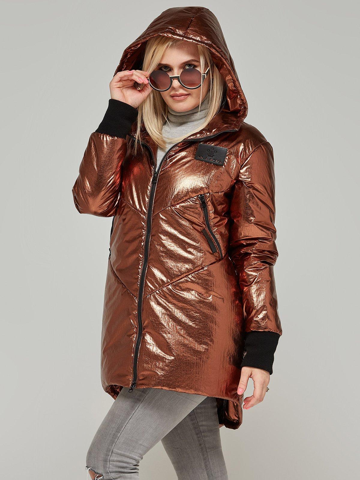 Куртка шоколадного кольору   4052162