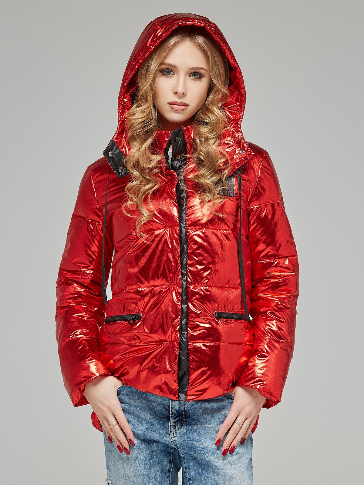 Куртка червона | 4052181