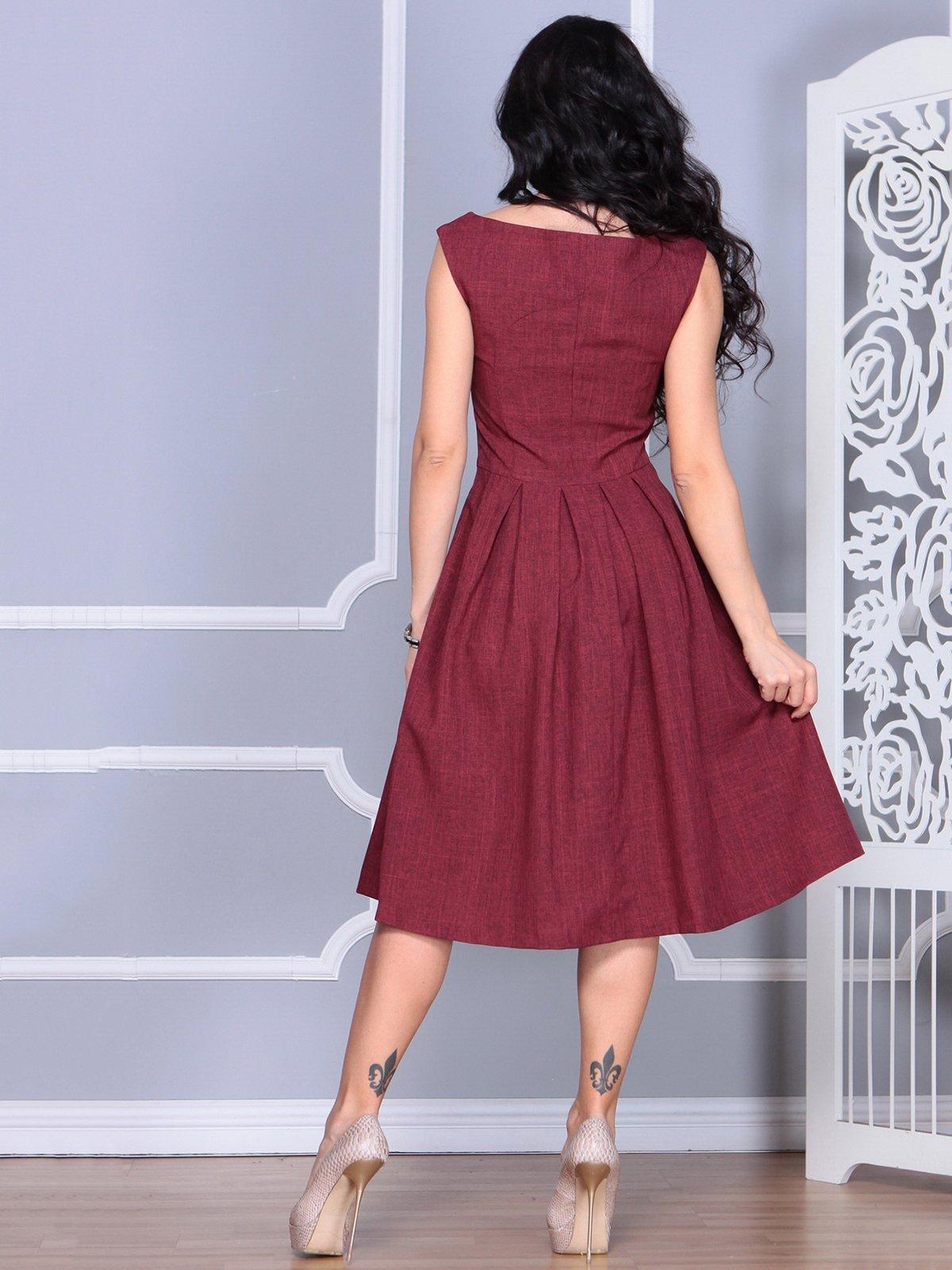 Платье светло-сливового цвета   4028059   фото 2