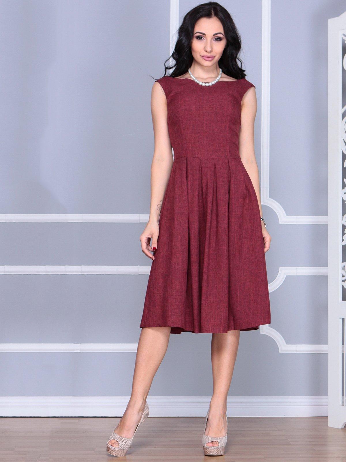 Платье светло-сливового цвета   4028059   фото 3