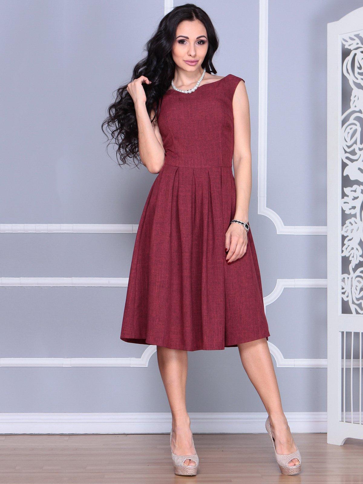 Платье светло-сливового цвета   4028059   фото 4