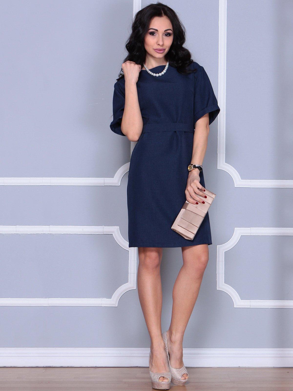Платье темно-синее   4028060