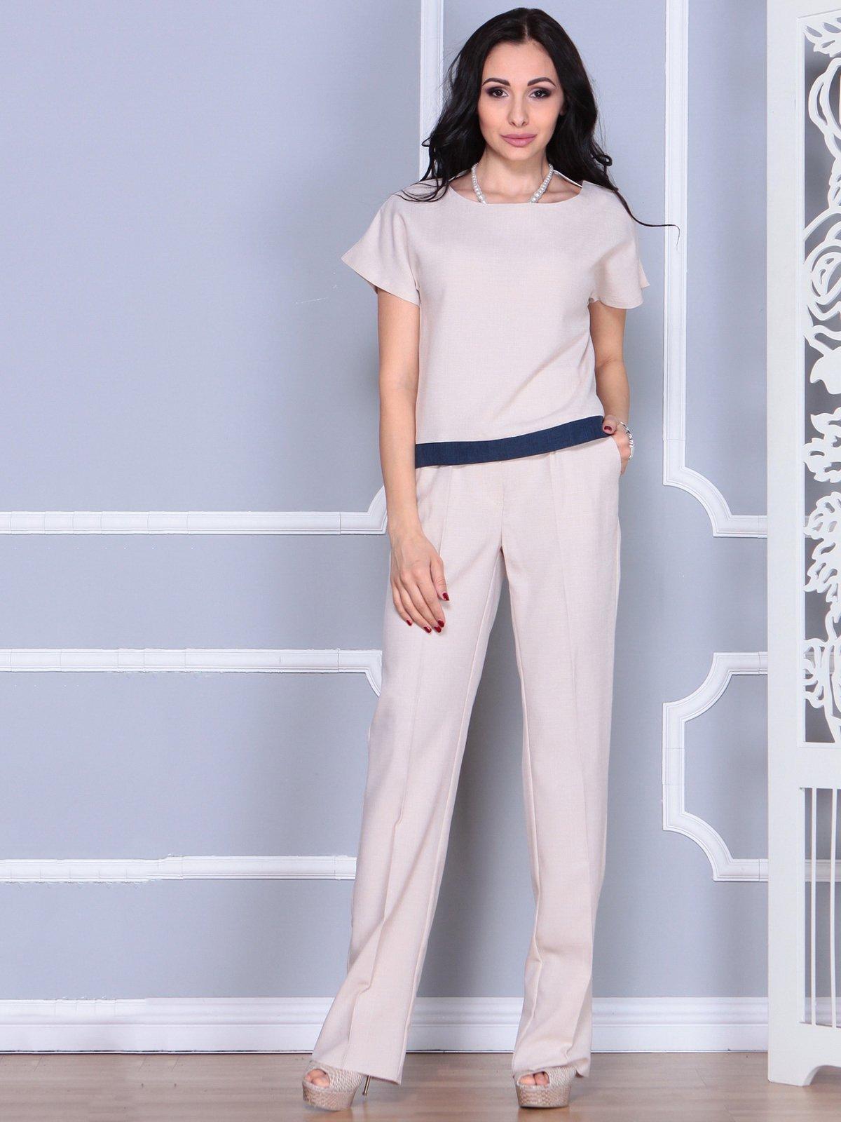 Костюм: блуза и брюки | 4028087