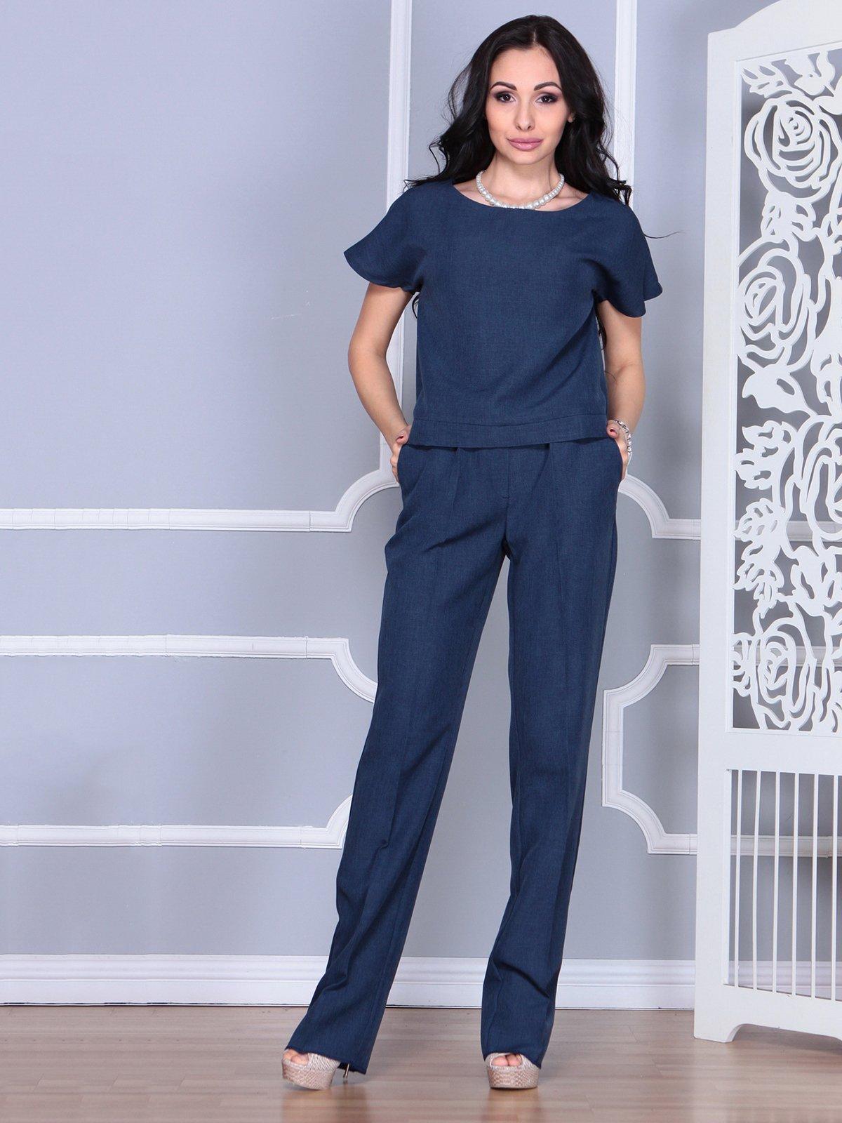 Костюм: блуза и брюки | 4028088