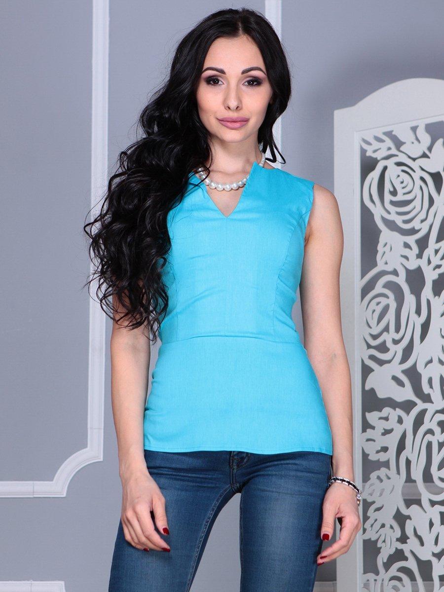 Блуза голубая | 4028130