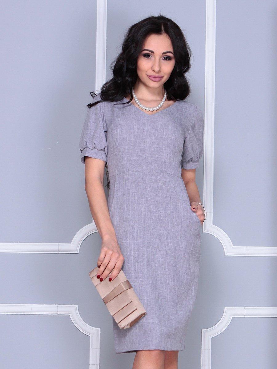 Платье серое | 4052022