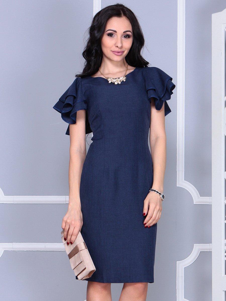 Платье темно-синее   4052024