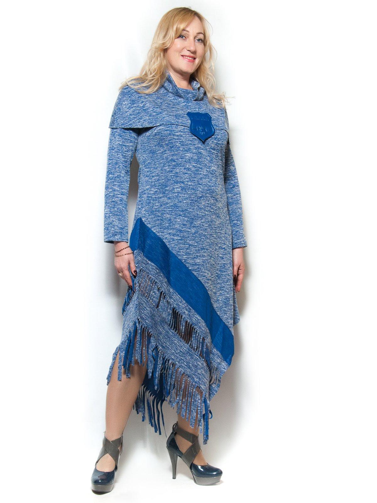 Платье цвета электрик   4017021