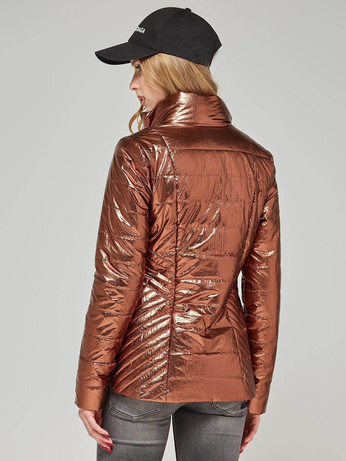 Куртка шоколадного кольору | 4052167 | фото 2