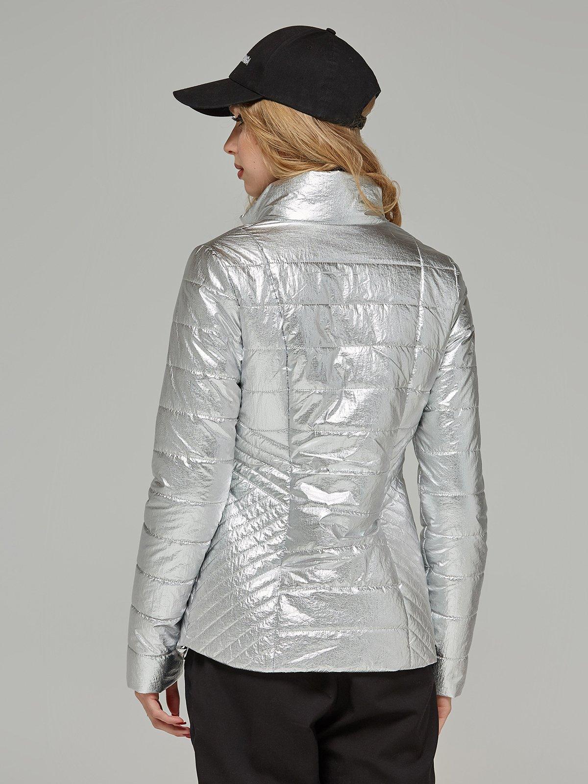 Куртка срібляста | 4052182 | фото 2