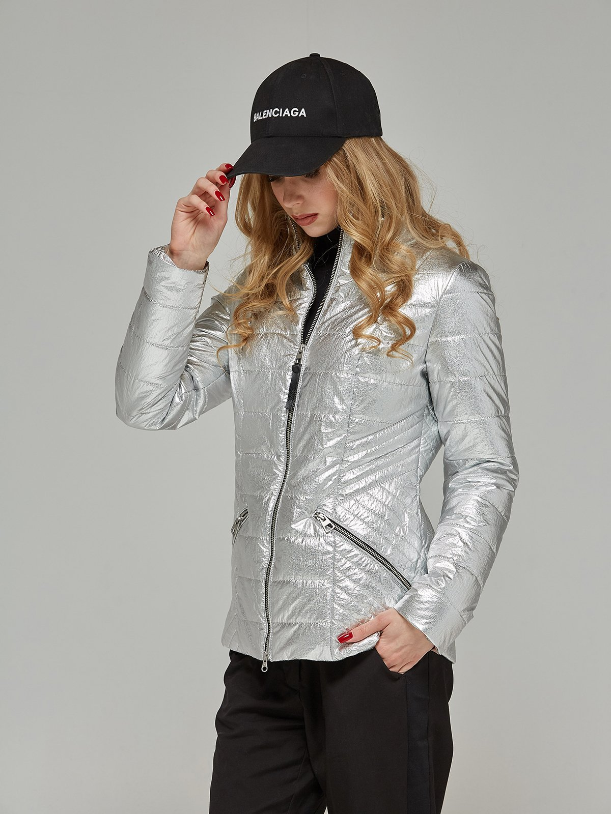 Куртка срібляста | 4052182