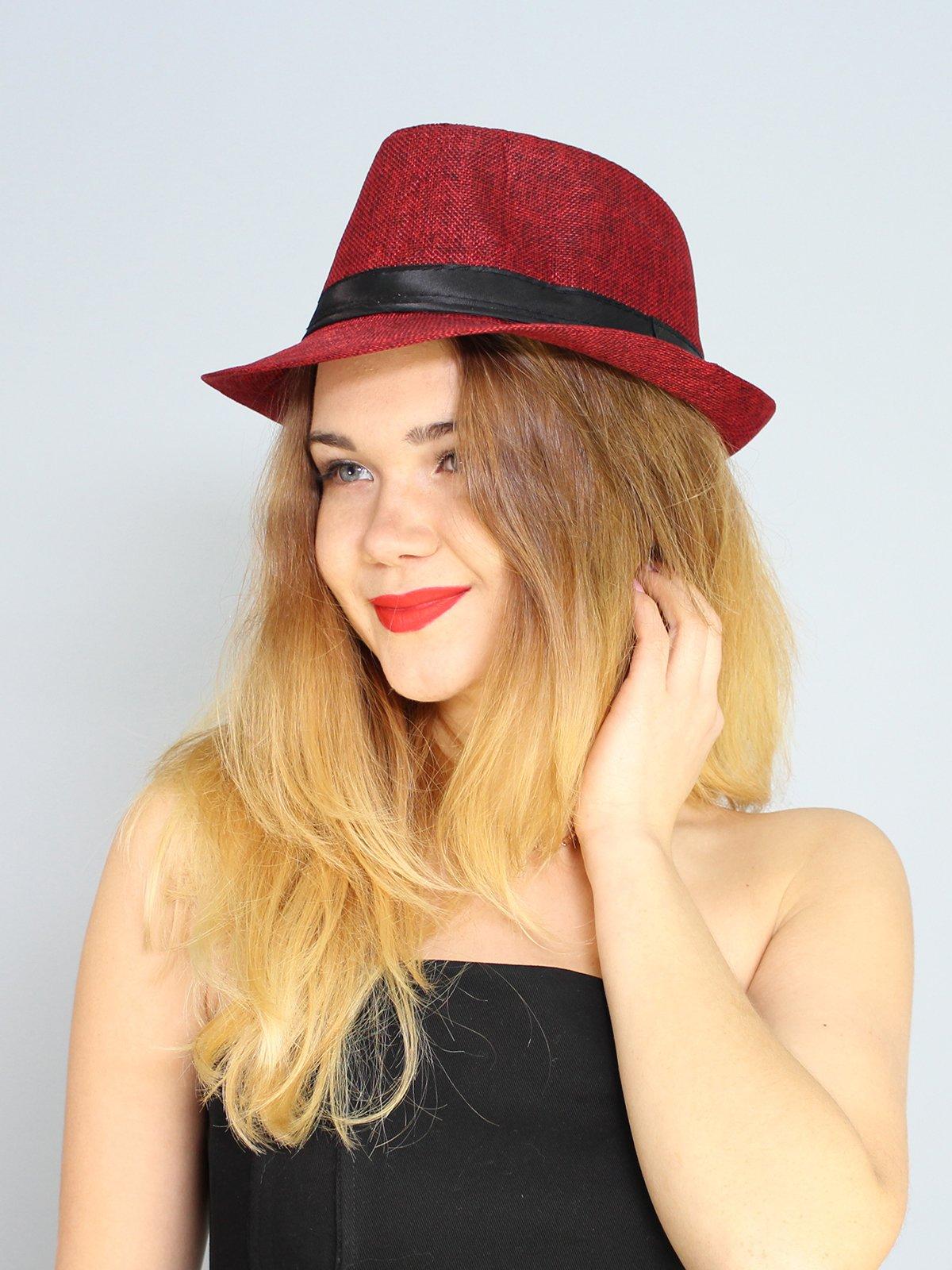 Шляпа красная   2436575   фото 2
