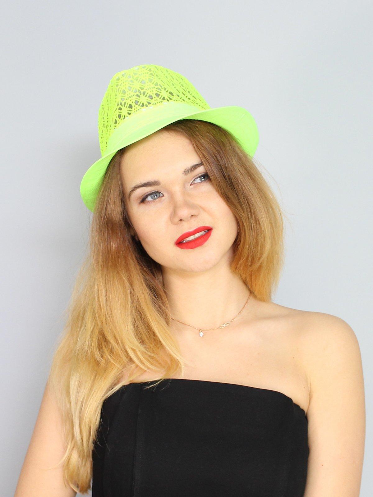 Шляпа салатовая | 3328549
