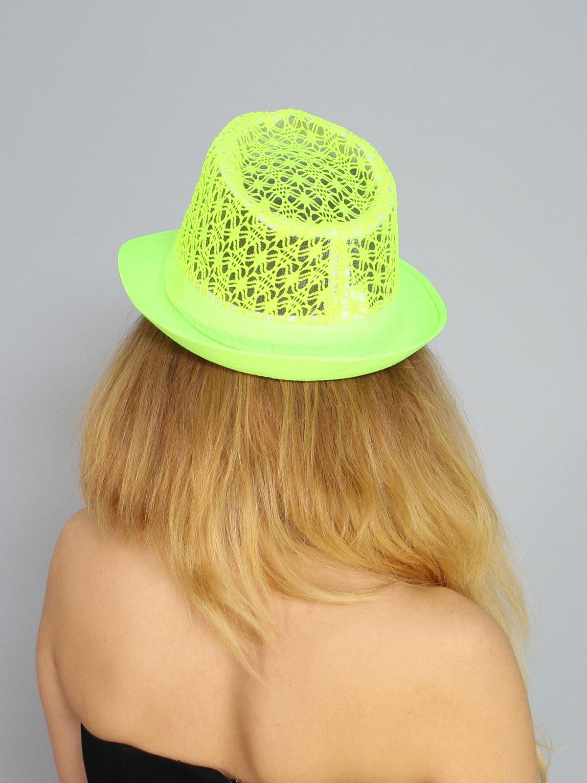 Шляпа салатовая | 3328549 | фото 3