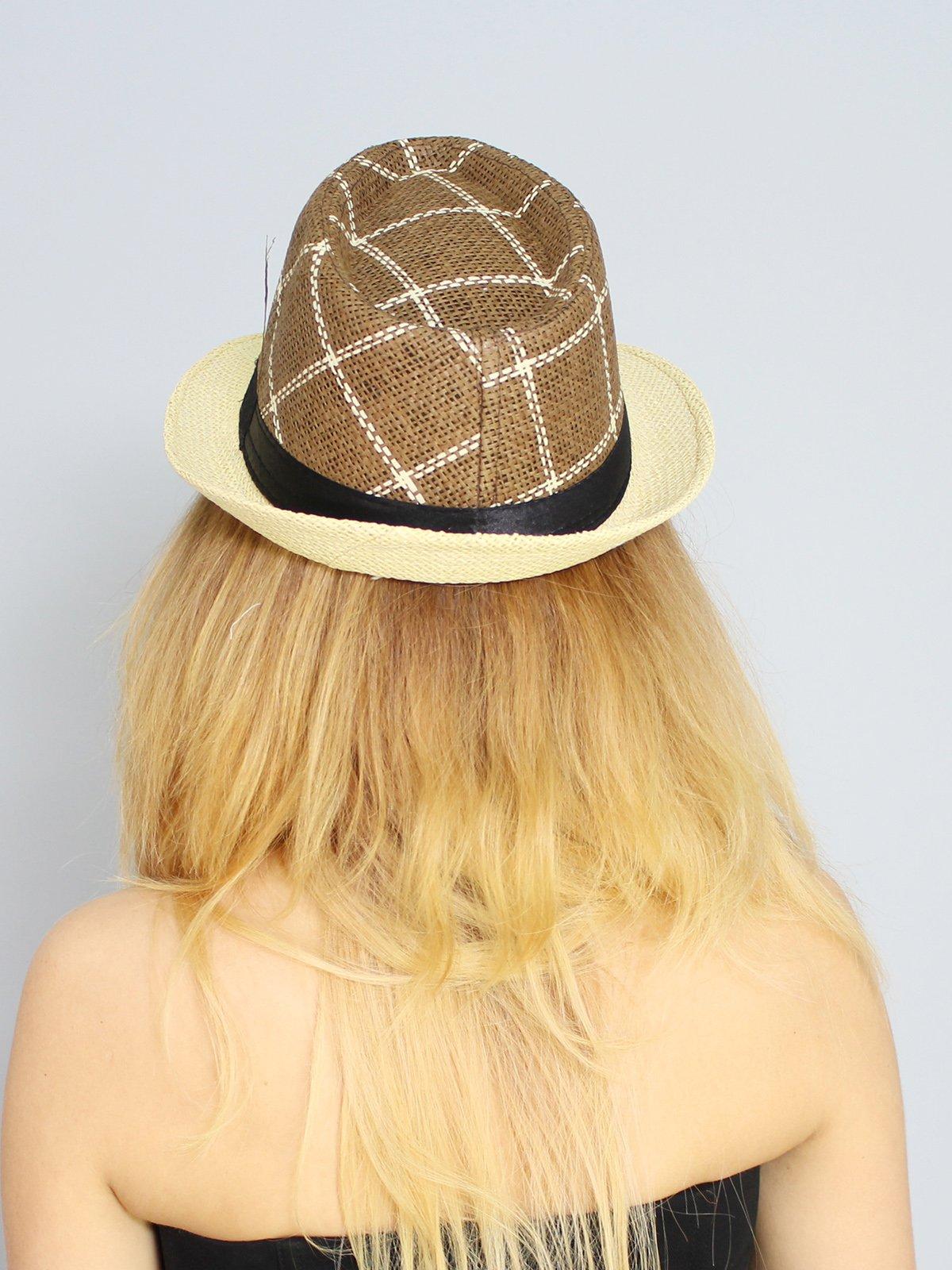 Шляпа коричневая | 3328559 | фото 2