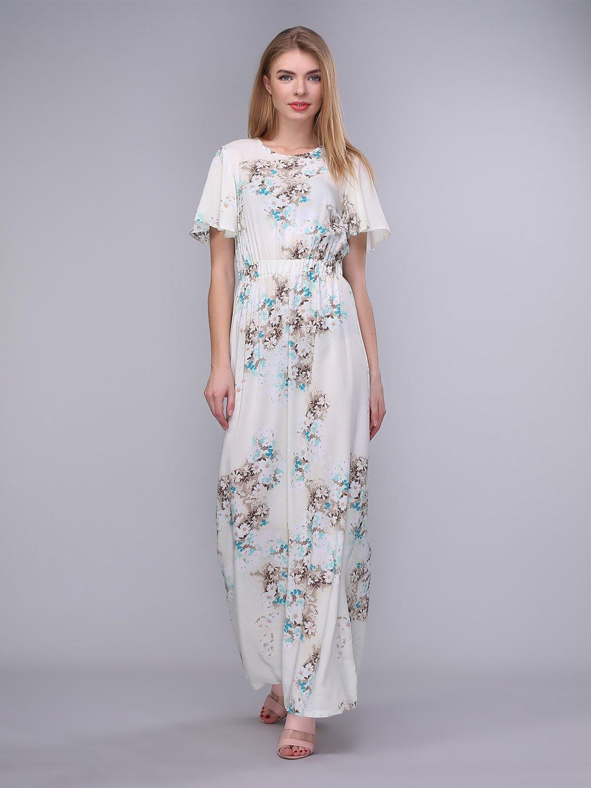 Сукня молочна в квіти | 4058227