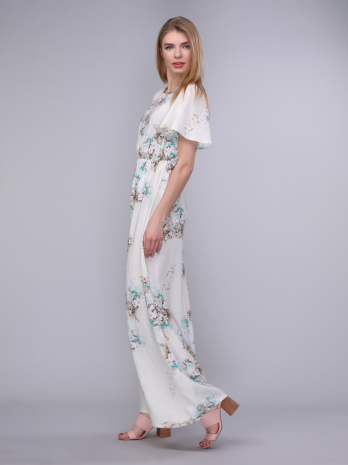 ebd8044b6e0 Платье молочное в цветы — Karseka