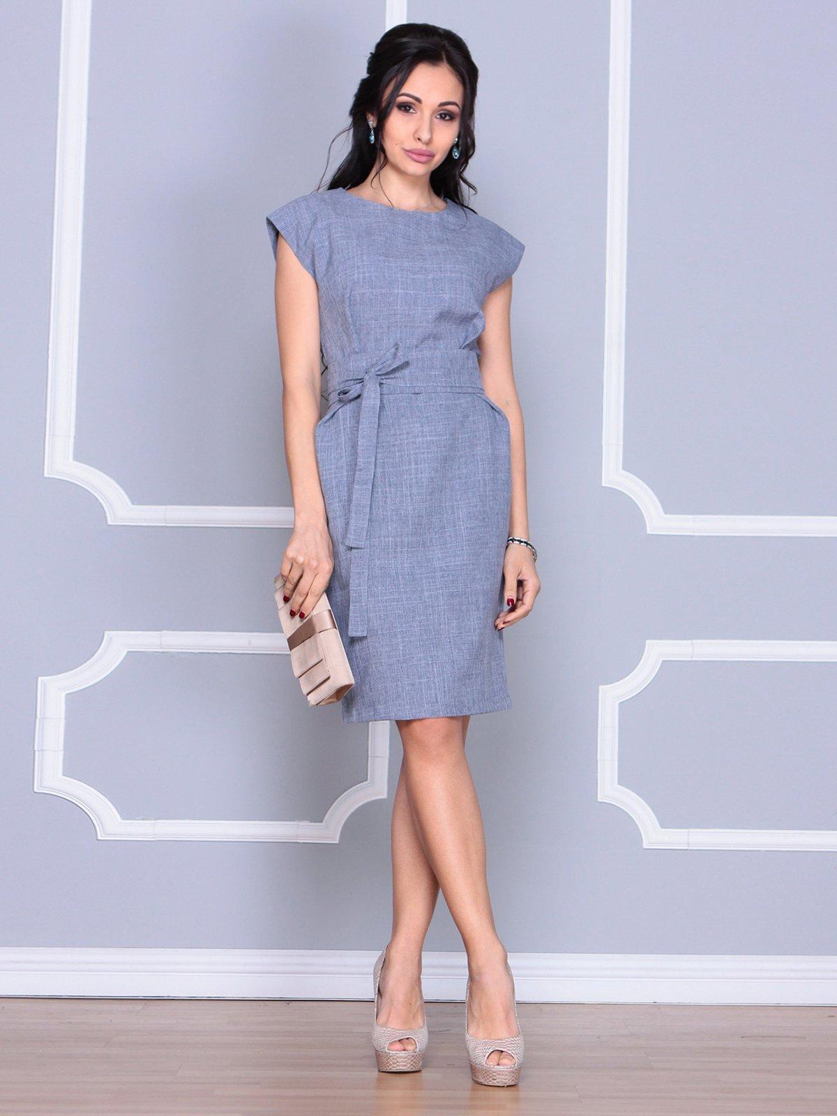 Сукня кольору фіолетового серпанку | 4058095