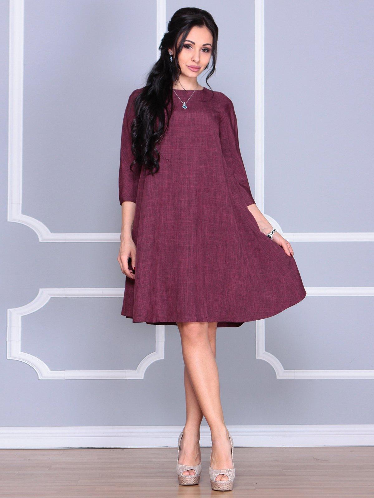Платье сливового цвета   4058098