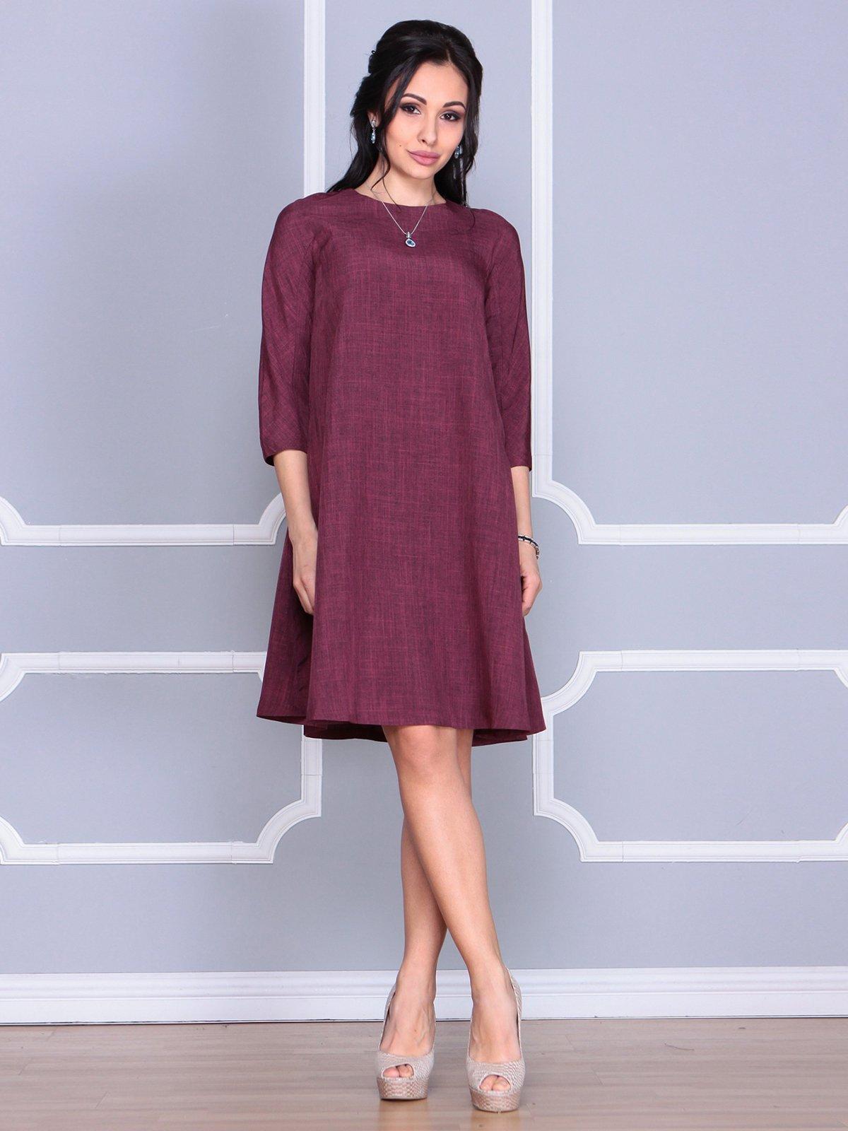 Платье сливового цвета   4058098   фото 4