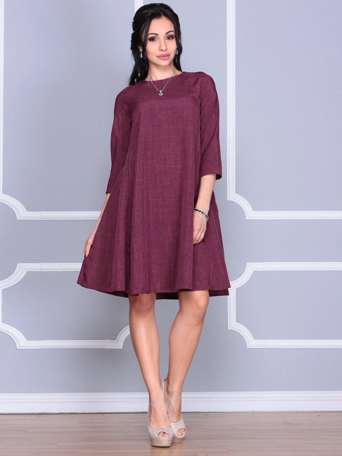 Платье сливового цвета   4058098   фото 5