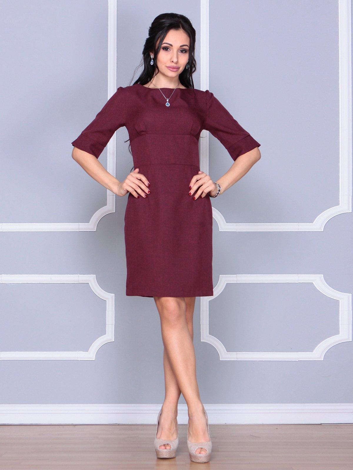 Платье сливового цвета | 4058100