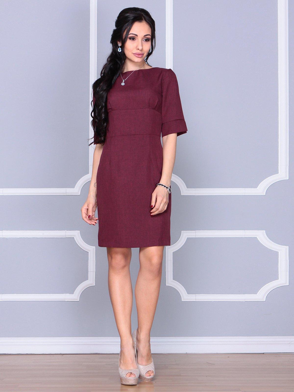 Платье сливового цвета | 4058100 | фото 4