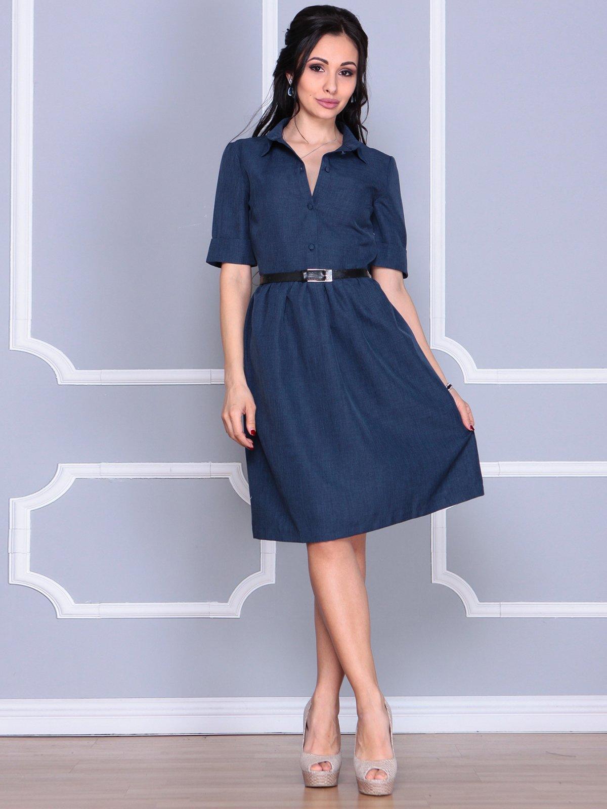 Платье темно-синее | 4058110