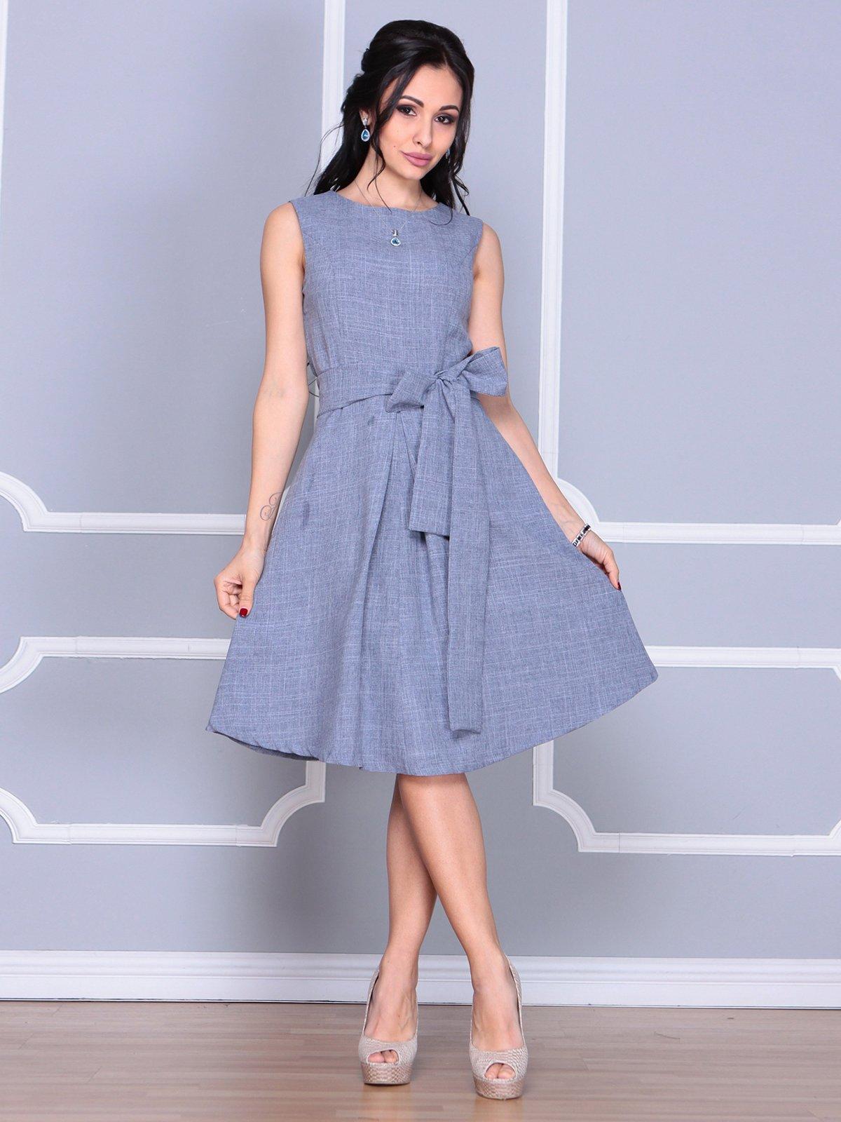 Платье цвета фиолетовой дымки | 4058112