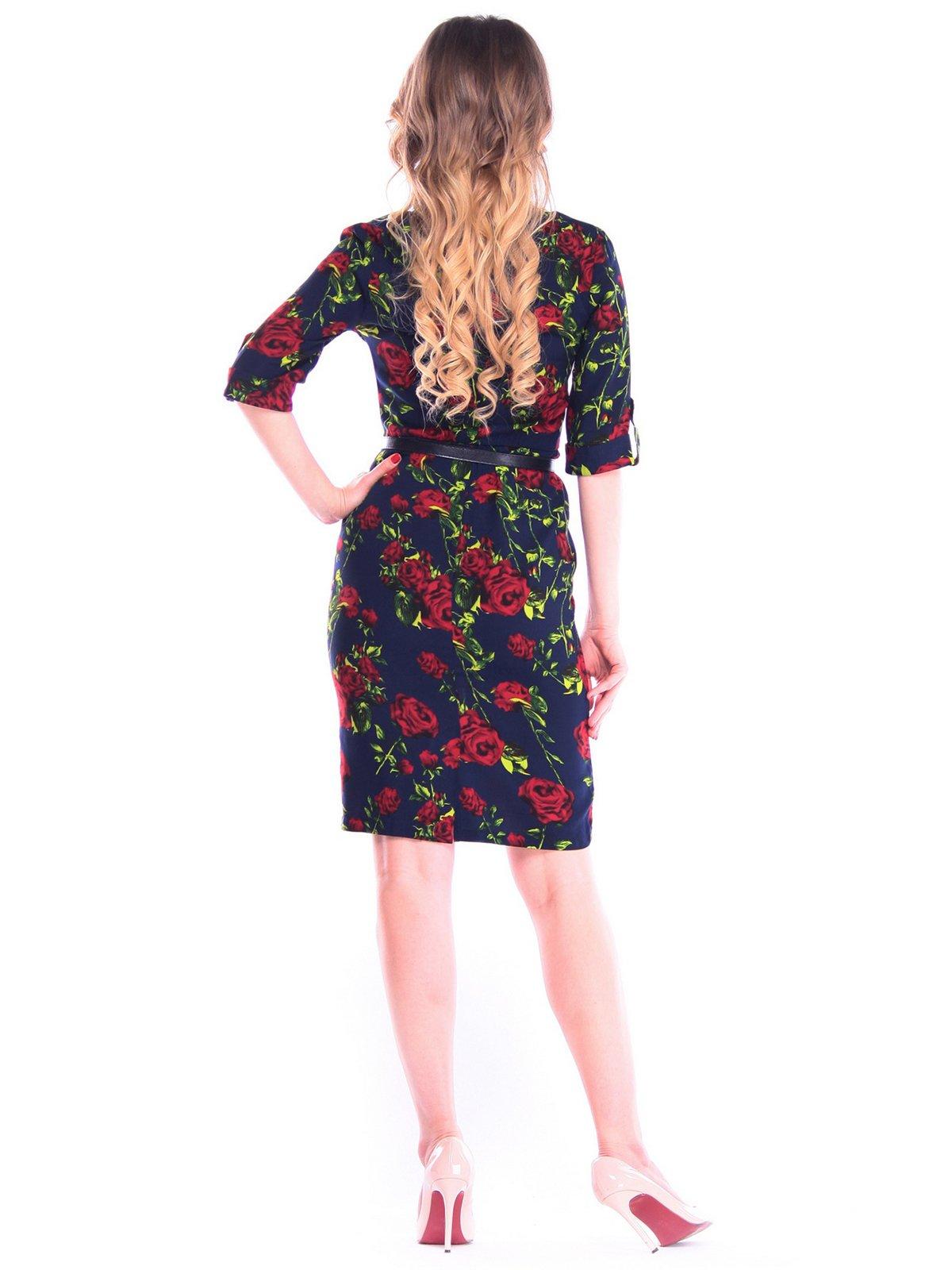 Платье в цветочный принт | 4058122 | фото 2