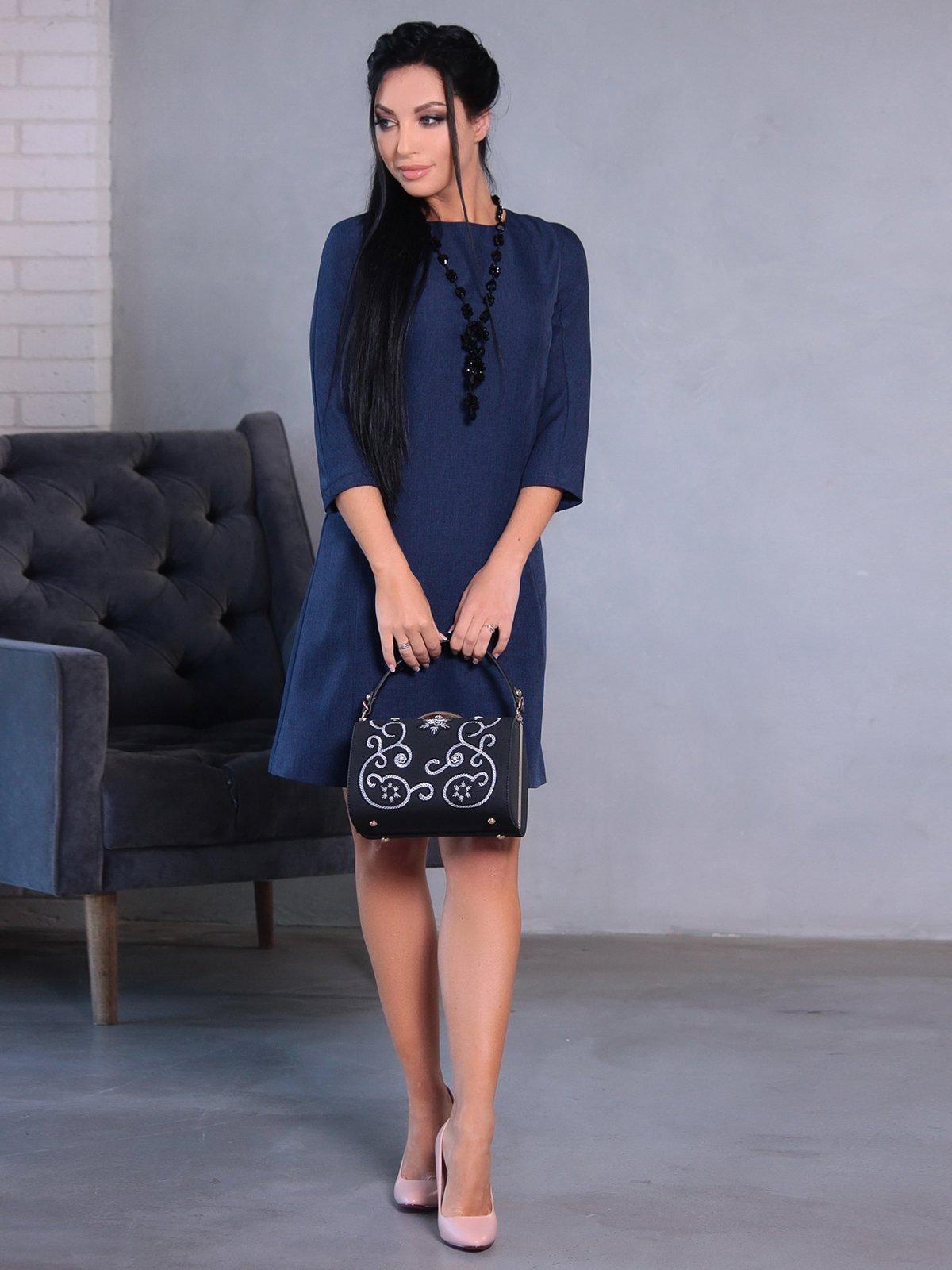 Сукня темно-синя | 4058131