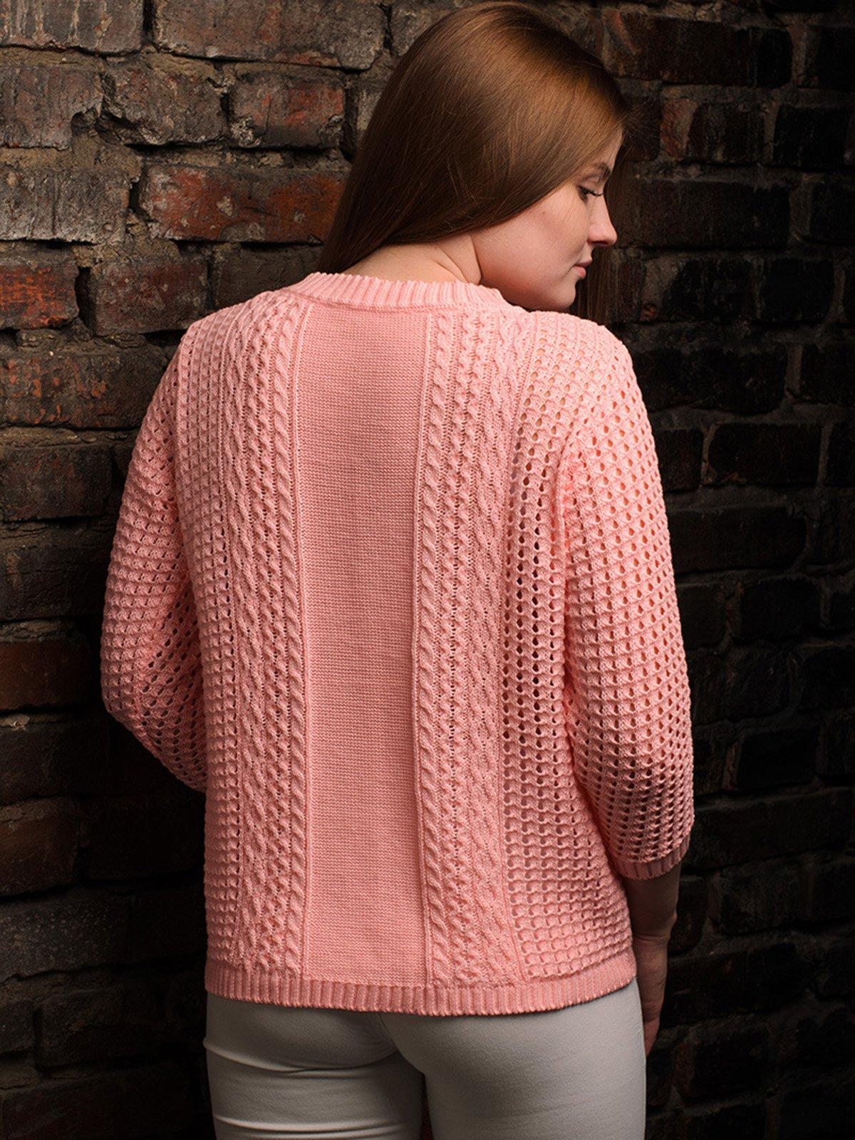 Джемпер рожевий   4050516   фото 3